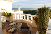Roof terrace  holiday apartment Costa - Costa Blanca, Alicante
