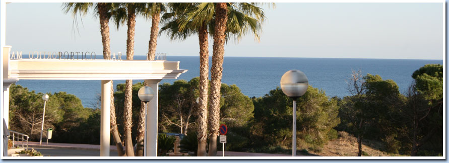 Exclusive holiday apartments for rent in Spain | Costa Blanca | Alicante | Portico Mar
